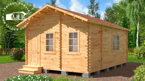 Проект Летняя кухня Комфорт - домик 4х6 м