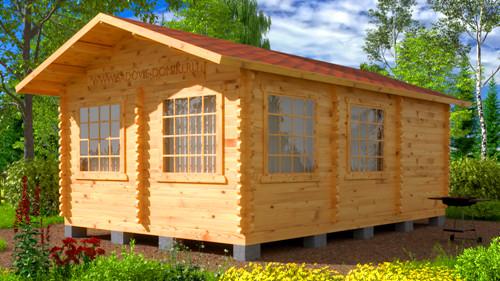 Проект Летняя кухня Макси - домик 6х4 м