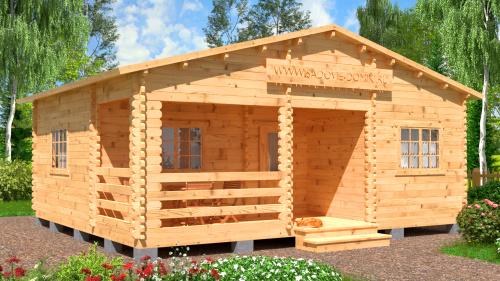 Проект Лето - садовый дом 7х6 м