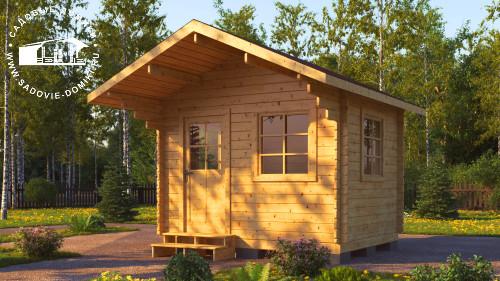 Проект Мини - домик 3 на 2,5 метра
