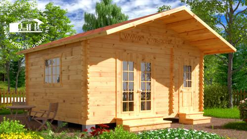 Проект Огородник - домик 5х4 м