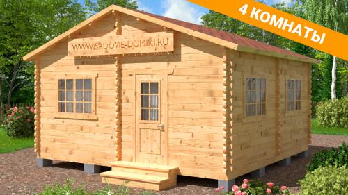 Проект Практик Плюс -  дачный домик 5х5 м