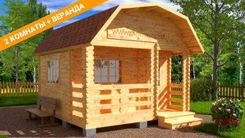 Проект Садовник - домик 4х4