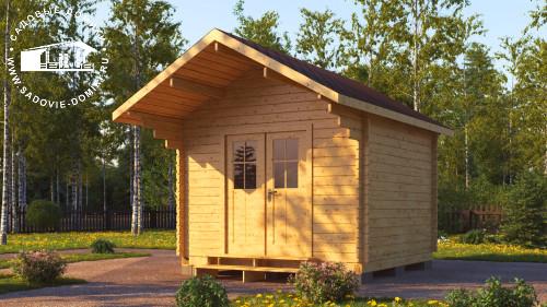Проект Уют - садовый домик 3х3
